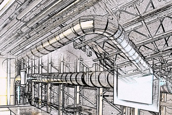 Fausel Center ducts
