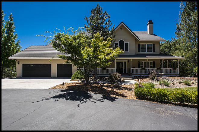 real estate, photography, front of house, Amador County, Sutter Creek, Jackson, California